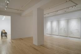 Alyson Shotz, Time Lapse, installation view at Derek Eller Gallery, New York