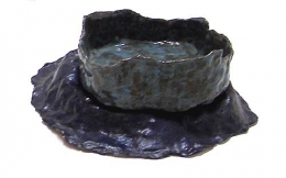 Sea and Sky Bowl, 2005, glazed ceramic