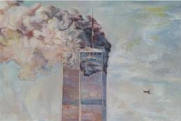 9-11, 2007, oil on linen