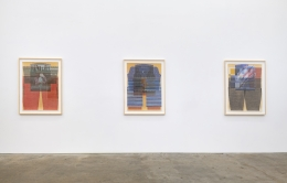 Ellen Lesperance, Lily of the Arc Lights, installation view at Derek Eller Gallery, New York