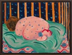 Untitled, 2015, oil on masonite