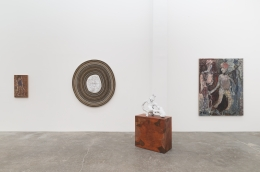 Peter Linde Busk, Any Port in a Storm, installation view at Derek Eller Gallery, New York