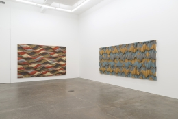 Ara Peterson, installation view at Derek Eller Gallery, New York