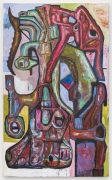 Three Third Eyes, 2018, oil on canvas