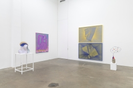 Heat Brain, installation view at Derek Eller Gallery, New York