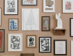 Whiting Tennis, installation view at Derek Eller Gallery, New York, 2017