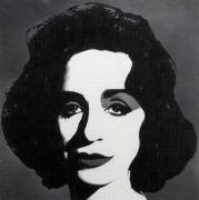 Dan Fischer Deborah Kass as Warhol's Liz, 2017