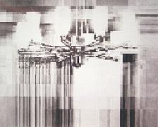 Over, 2005, graphite on paper