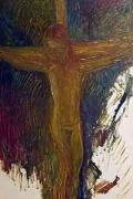 Christ, 2002, oil on linen