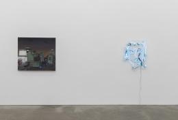 Jane Freilicher, Mira Dancy, Daniel Heidkamp, installation view at Derek Eller Gallery, New York