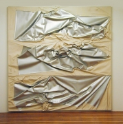 Steven Parrino , 3 Unit Aluminum Death Shifter, 1992