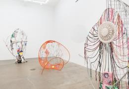 Michelle Segre, Dawn of the Looney Tune, installation view at Derek Eller Gallery, New York