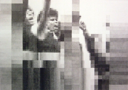 Rise, 2005, graphite on paper