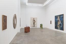 Peter Linde Busk, Any Port in a Storm, installation view at Derek Eller Gallery, New York, 2017