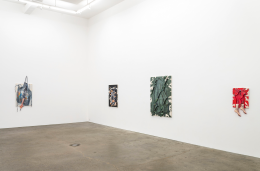 David Kennedy Cutler,Muscle Memory, installation view at Derek Eller Gallery, New York