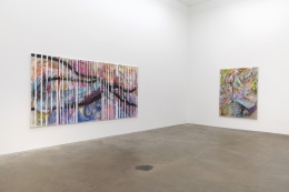 Despina Stokou, White Lies, installation view at Derek Eller Gallery, New York
