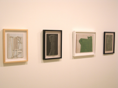 Whiting Tennis (from left), Structure with String, 2009