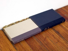 Veranda, 2005, hardcover books and gravel