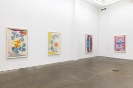 John Newman, Drawings of Imaginary Sculptures in Imaginary Spaces: 1991-2003, installation view at Derek Eller Gallery, New York