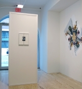 Adam Marnie, Locus Rubric, installation view at Derek Eller Gallery, New York