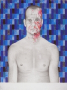 Inevitable, 2007 , color pencil and graphite on paper