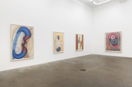John Newman, Drawings of Imaginary Sculptures in Imaginary Spaces: 1991-2003, installation view at Derek Eller Gallery, New York