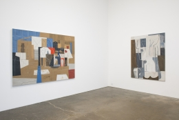 Whiting Tennis, installation view at Derek Eller Gallery, New York