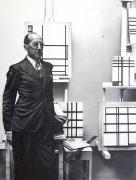 Piet Mondrian, 2005, graphite on paper