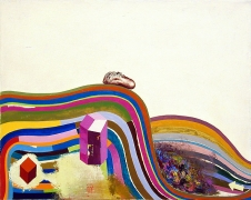 Candy Coated Mountain, 2003, oil on canvas