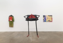 William King, Annabeth Marks, Annie Pearlman, Rachel Eulena Williams, installation view at Derek Eller Gallery, New York, 2018