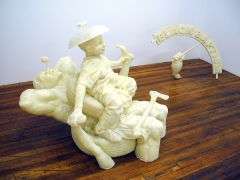 On the River, 2002, fiberglass, epoxy resin