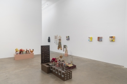 Nancy Shaver, A part of a part of a part, installation view at Derek Eller Gallery, New York