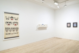 Karl Wirsum, The Hard Way: Selections from the 1970s, installation view at Derek Eller Gallery, New York