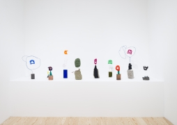 Michelle Segre, Driftloaf, installation view at Derek Eller Gallery, New York
