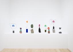 Michelle Segre, Driftloaf,installation view at Derek Eller Gallery, New York