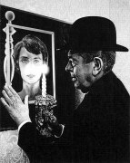 René Magritte, 2006, graphite on paper
