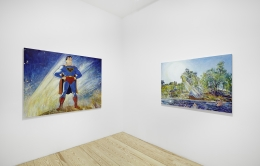 Keith Mayerson, My American Dream (Prologue), installation view at Derek Eller Gallery, New York