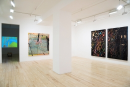 Tom Thayer, installation view ofSuperrational Searchingat Derek Eller Gallery, April 25 - May 24, 2014