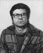 Robert Smithson, 2004, graphite on paper