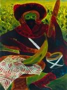 Untitled, 2012 oil on masonite