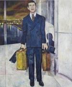 Mr. Smith Goes to Washington, 2006, oil on linen