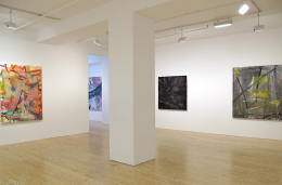 Jeff Kessel, installation view at Derek Eller Gallery, New York
