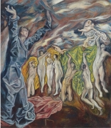 The Vision of Saint John: The Opening of the Fifth Seal (After El Greco), 2008, oil on linen