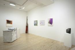 Perfectly Damaged, installtion view at Derek Eller Gallery, New York