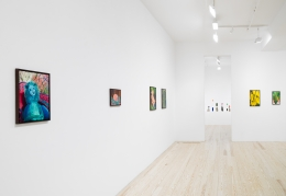 André Ethier, Under Grape Leaves, installation view at Derek Eller Gallery, New York