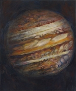 Jupiter, 2006, oil on linen