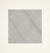 Jacob El Hanani, Crosshatched Dish Towel, 1998