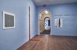 Installation view of Hesse / Wilke