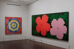 Installation view of Robert & Ethel Scull: Portrait of a Collection at Acquavella Galleries from April 12 - May 26, 2010.