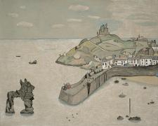 Lucian Freud, Tenby Harbour, 1944